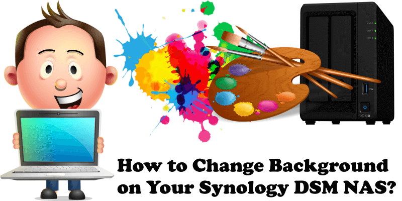How to change Background on your Synology DSM NAS