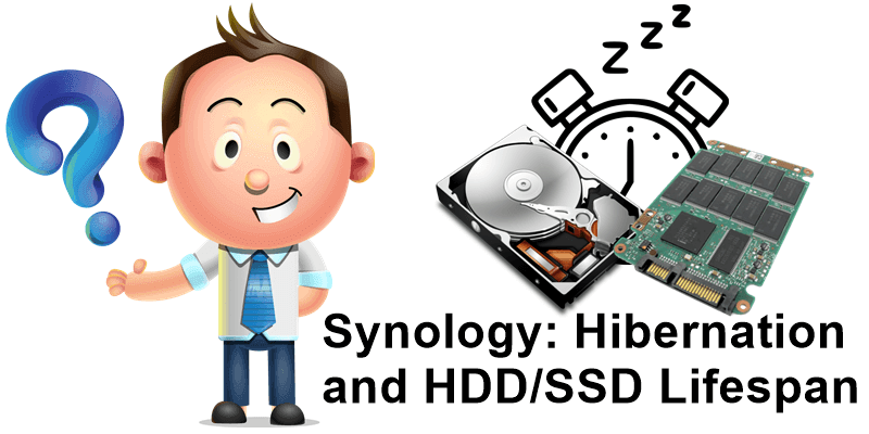 Synology Hibernation and HDD SSD Lifespan