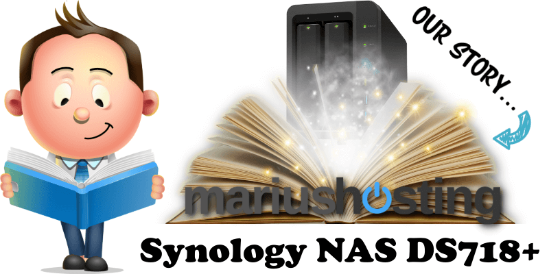 Synology NAS DS718 Story