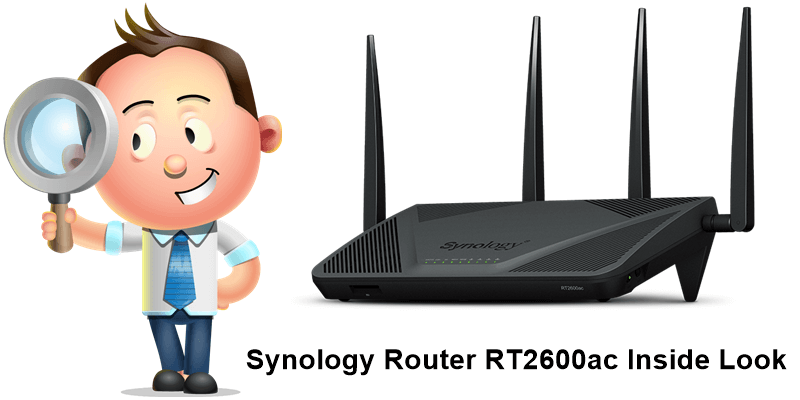 Synology Router RT2600ac Inside Look