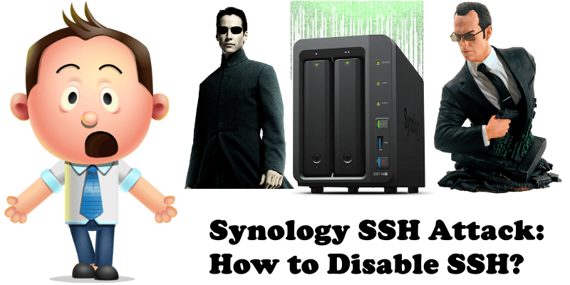 Synology SSH Attack How To Disable SSH