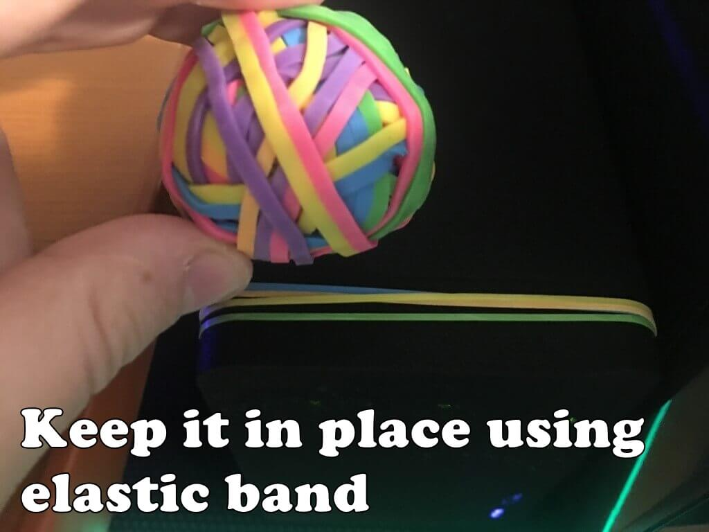keep it with elastic band 4
