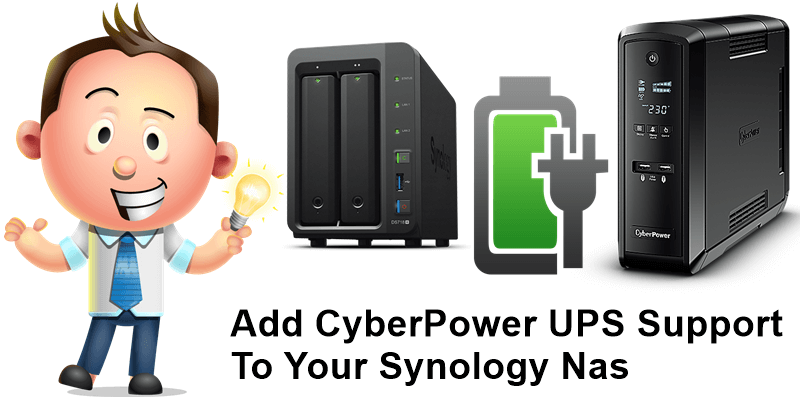 Add CyberPower UPS Support To Your Synology Nas