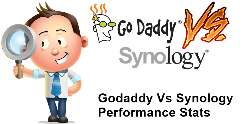 Godaddy vs Synology Performance Stats