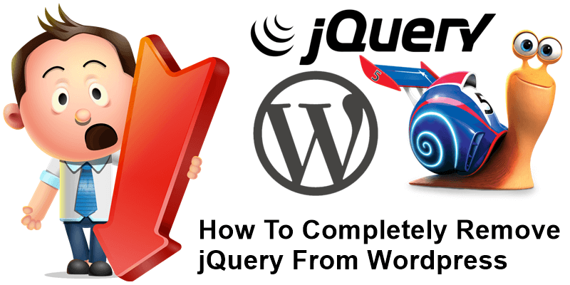 How To Completely Remove jQuery From WordPress