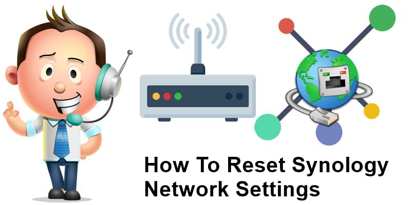 How to reset Synology Network settings