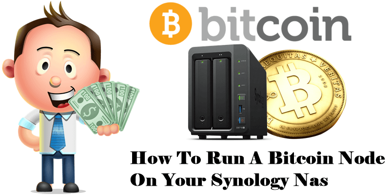 How to run a bitcoin node on your synology nas