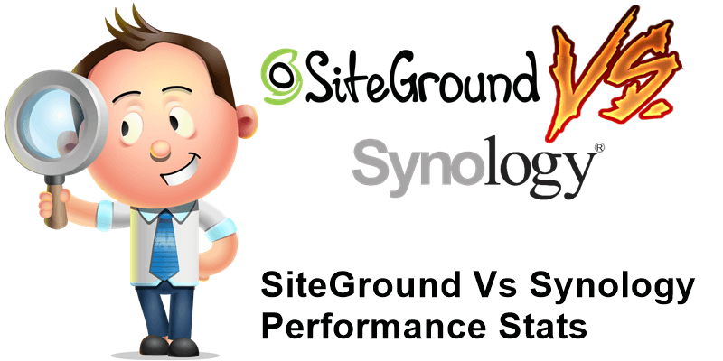 SiteGround vs Synology Performance Stats