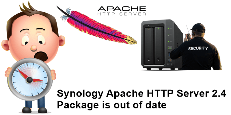 Synology Apache HTTP Server 2.4 Package is out of date