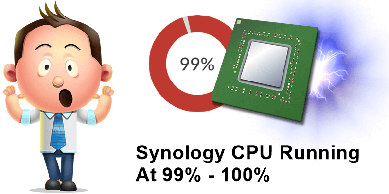 Synology CPU Running At 99% - 100%