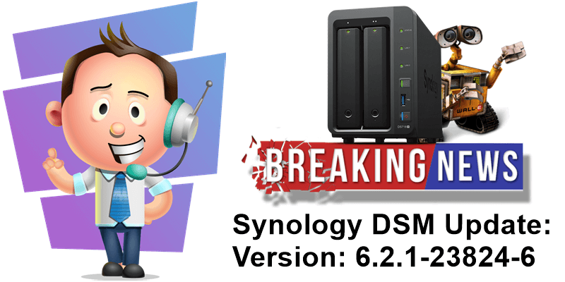 Synology DSM Update Version 6.2.1-23824-6