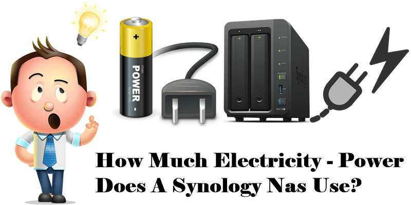 How Much Electricity -Power Does A Synology Nas Use