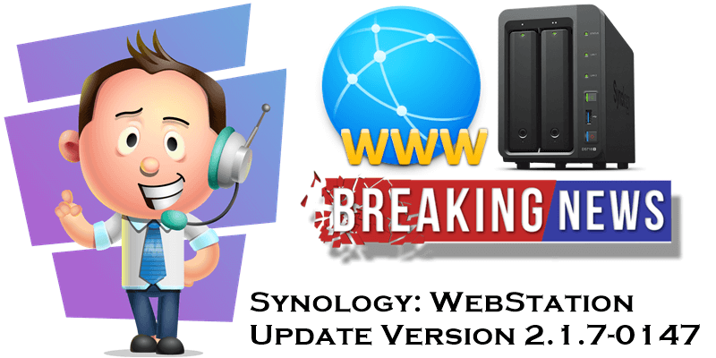 Synology-webstation-update-june-2019