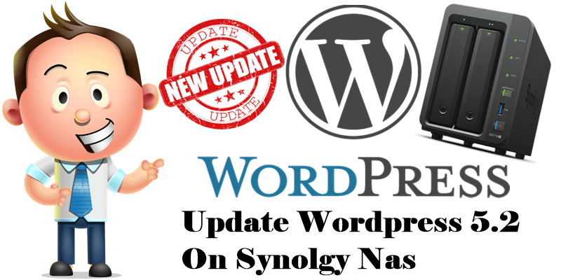 Update-Wordpress-5.2-On-Synology-Nas