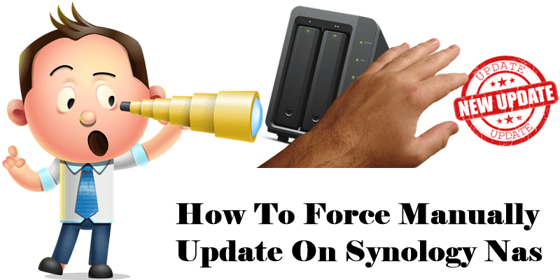 how-to-force-manually-update-on-synology-nas