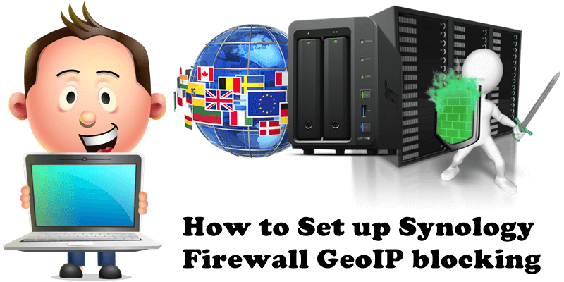 How to Set up Synology Firewall GeoIP blocking