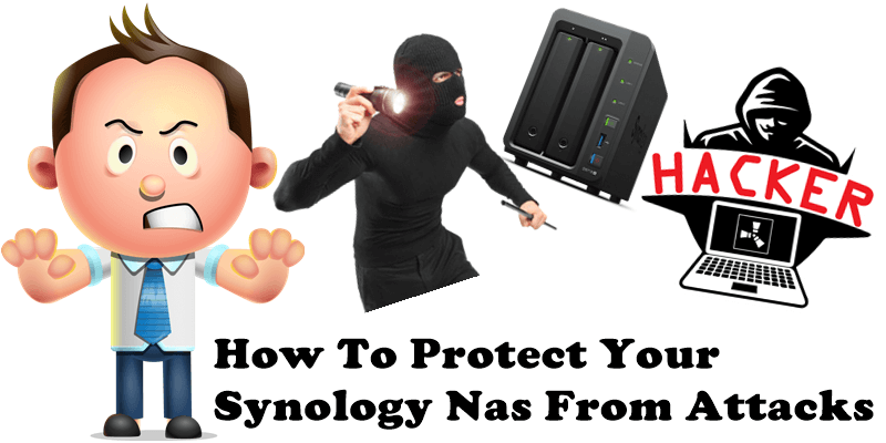 How to protect your Synology Nas from attacks