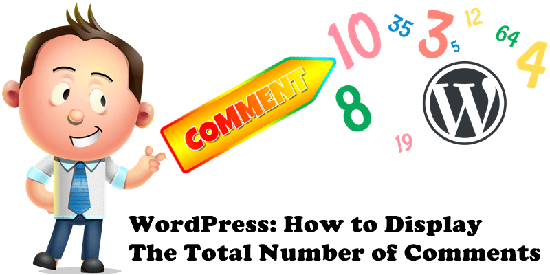 WordPress How to Display The Total Number of Comments