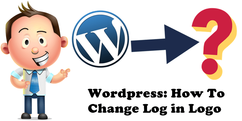 Wordpress How To Change Log in Logo