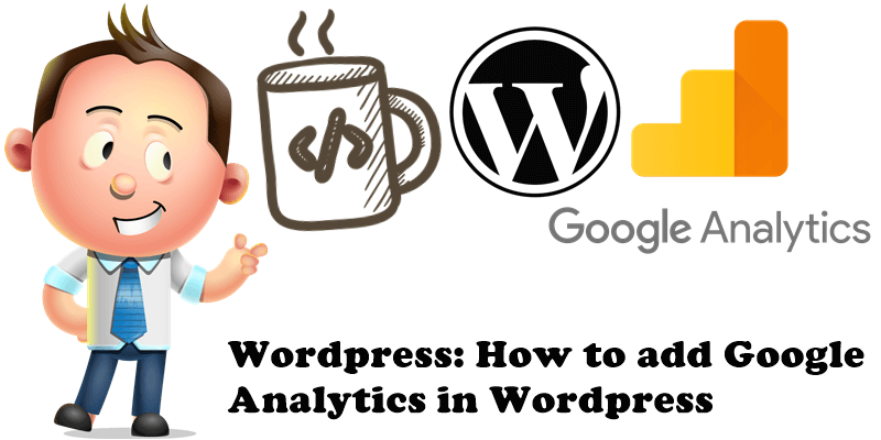 Wordpress How to add Google Analytics in Wordpress