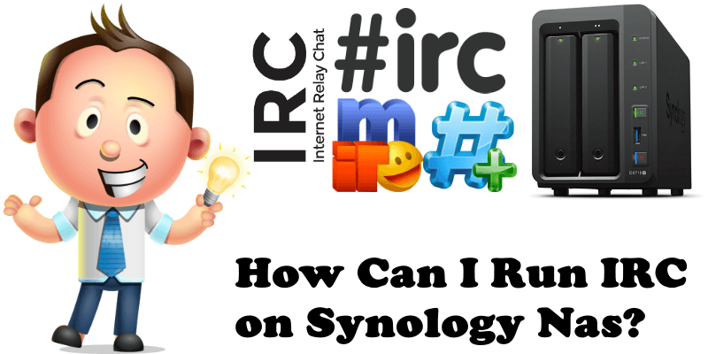 How can I run irc on synology nas
