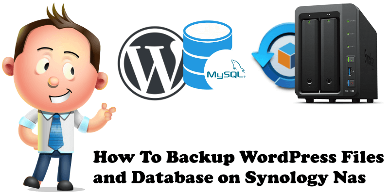 How to Backup Wordpress Files and Database on Synology Nas