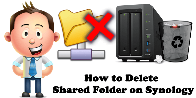 How to Delete Shared Folder on Synology