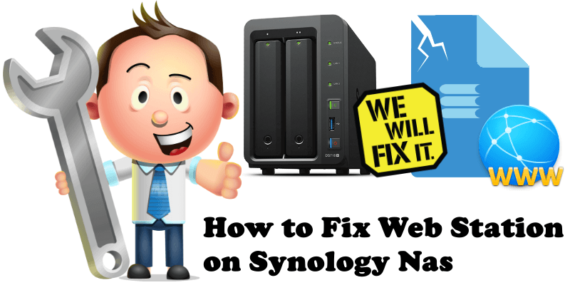 How to Fix Web Station on Synology Nas