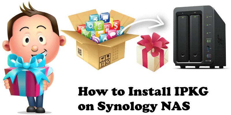 How to Install IPKG on Synology NAS