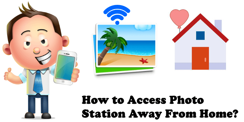 How to access photo station away from home