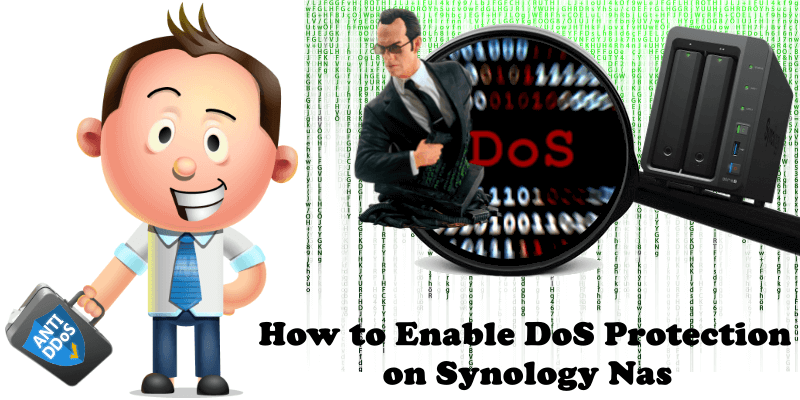 How to Enable DoS Protection on Synology Nas