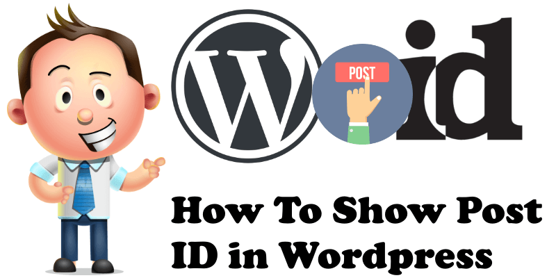 How to show post id in WordPress