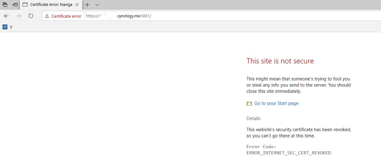 SEC_ERROR_REVOKED_CERTIFICATE