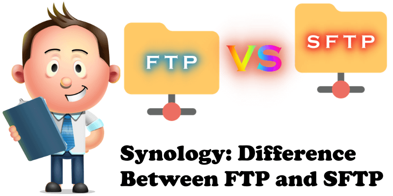 Synology Difference Between FTP and SFTP