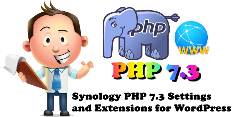 Synology PHP 7.3 Settings and Extensions for WordPress