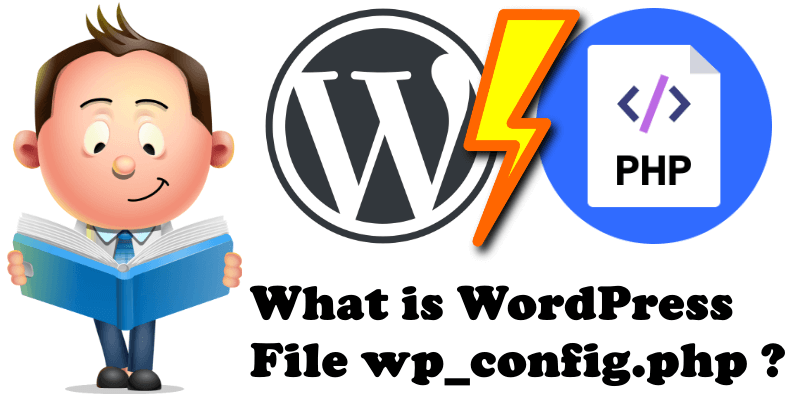 What is WordPress File wp_config.php