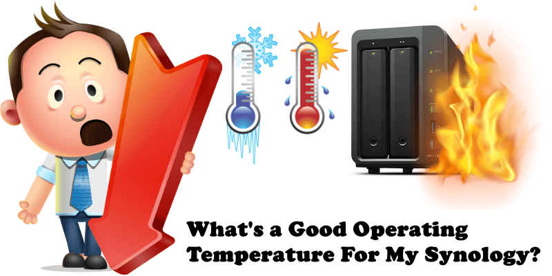 What's a Good Operating Temperature For My Synology