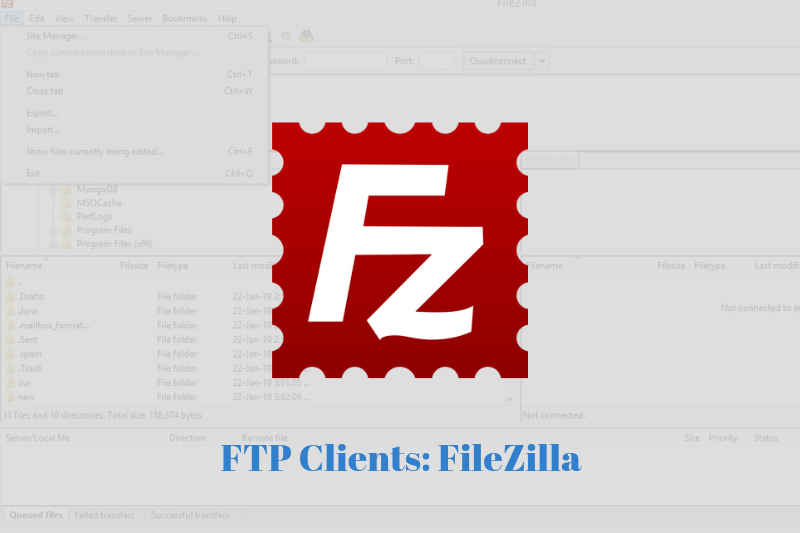 filezilla client ftp synology