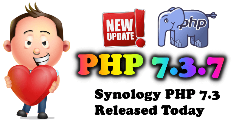 php 7.3.7 Synology release