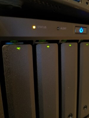 synology status led orange