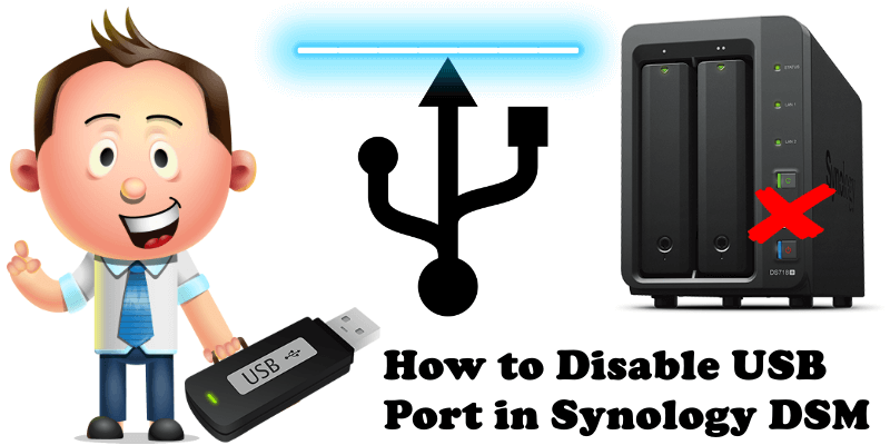 How to Disable USB Port in Synology DSM