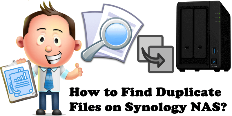 How to Find Duplicate Files on Synology NAS