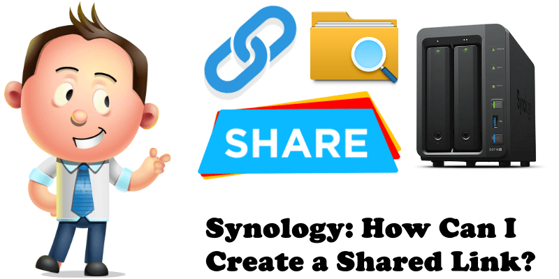 Synology How Can I Create a Shared Link