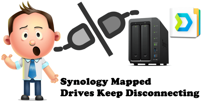Synology Mapped Drives Keep Disconnecting