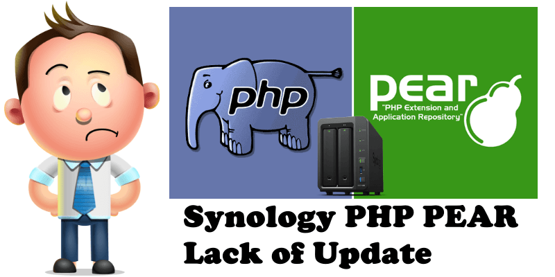 Synology PHP PEAR Lack of Update