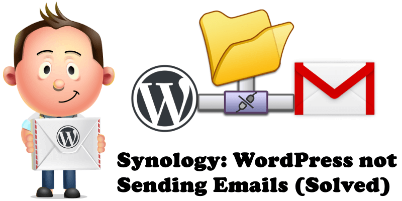 Synology WordPress not Sending Emails (Solved)