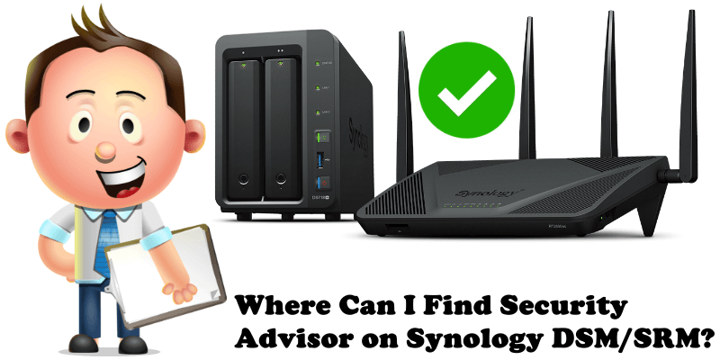 Where Can I Find Security Advisor on Synology DSM