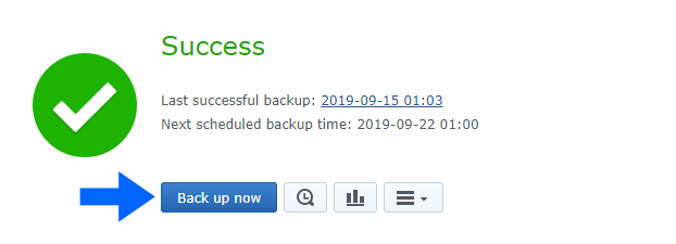 backup now mariaDB 10