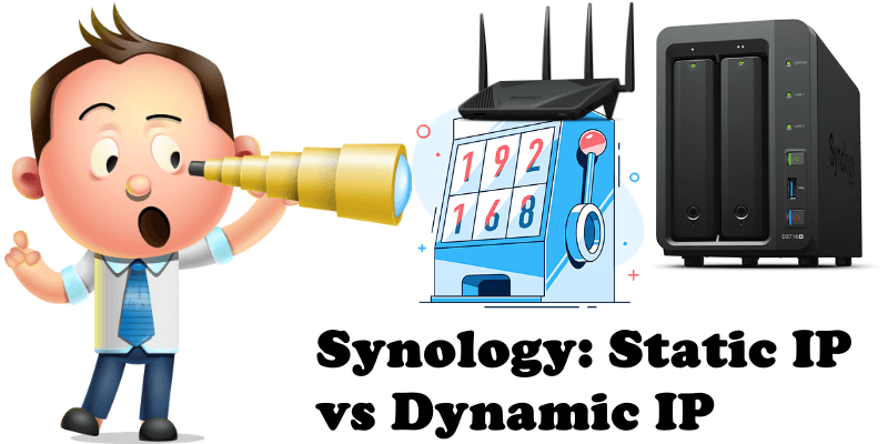 synology static ip vs dynamic ip