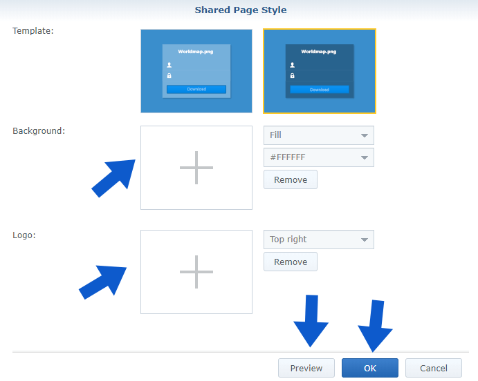 11 synology personalized shared link
